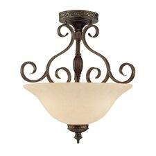 Alma 3 Light Semi-Flush Mount