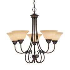 <strong>Millennium Lighting</strong> Fulton 5 Light Chandelier