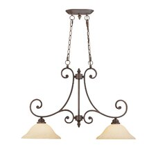 Oxford 2 Light Kitchen Pendant Lighting