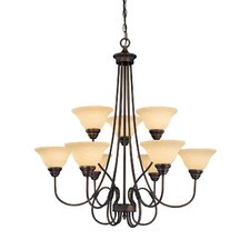 Fulton 9 Light Chandelier