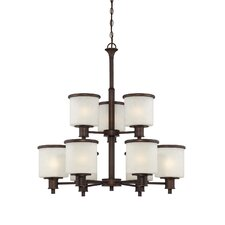 <strong>Millennium Lighting</strong> Dalton 9 Light Chandelier