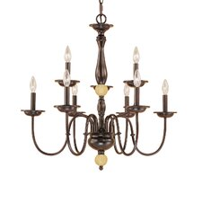 <strong>Millennium Lighting</strong> Madison 9 Light Chandelier