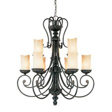 <strong>Millennium Lighting</strong> Brunswick 9 Light Chandelier