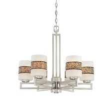 <strong>Millennium Lighting</strong> Aurora 6 Light Chandelier