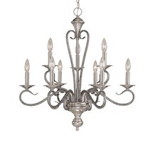 <strong>Millennium Lighting</strong> Devonshire 9 Light Chandelier