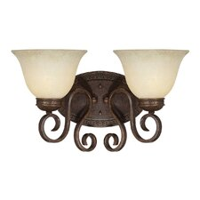 <strong>Millennium Lighting</strong> Alma 2 Light Bath Vanity Light