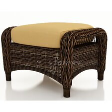 <strong>Forever Patio</strong> Leona Ottoman with Cushion
