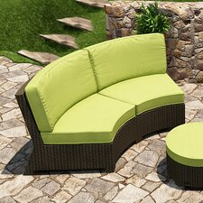 <strong>Forever Patio</strong> Barbados Sofa with Cushions