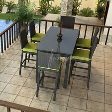 Barbados 7 Piece Bar Height Dining Set