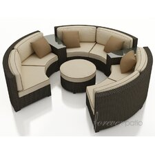 Hampton 6 Piece Deep Seating Group with Cushion