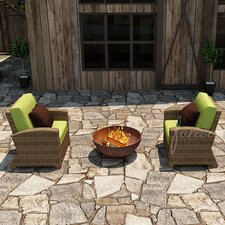 <strong>Forever Patio</strong> Cypress Deep Seating Chair with Cushion (Set of 2)