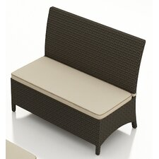 <strong>Forever Patio</strong> Hampton Polyethylene Loveseat Bench