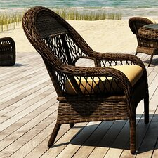 <strong>Forever Patio</strong> Leona Dining Arm Chair with Cushion