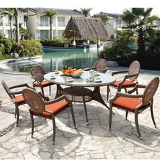 Genoa 7 Piece Dining Set