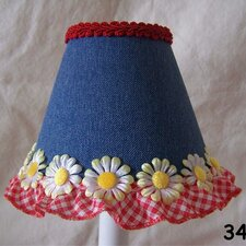 "5"" Picnic Play Fabric Empire Candelabra Shade"