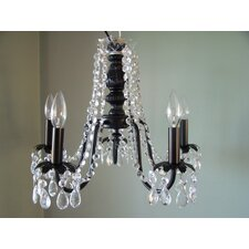 Miss Mercedes 5 Light Chandelier