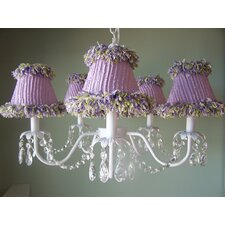 Sugar Plum 5 Light Chandelier