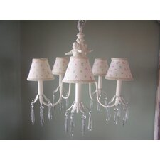 Angel Baby 5 Light Chandelier