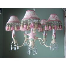 Isabella 5 Light Chandelier