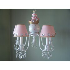 <strong>Silly Bear Lighting</strong> My Royal Princess 5 Light Chandelier