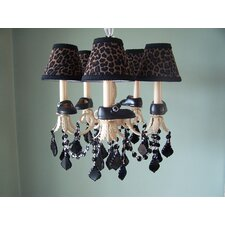 Lil Mama Mary Janes 5 Light Chandelier
