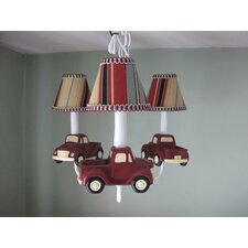 <strong>Silly Bear Lighting</strong> My Vintage Truck 3 Light Chandelier