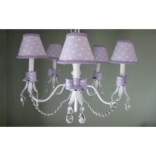 My Pretty Bows 5 Light Chandelier