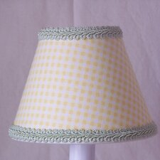 "5"" Gingham Fabric Empire Candelabra Shade"