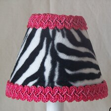 "5"" Zebra Fabric Empire Candelabra Shade"