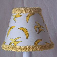 "5"" Goin Bananas Fabric Empire Candelabra Shade"