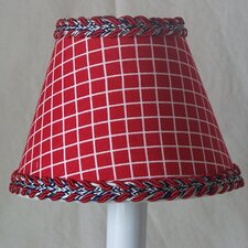 <strong>Silly Bear Lighting</strong> Fireman's Check Table Lamp Shade
