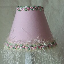 "5"" Blushing Princess Fabric Empire Candelabra Shade"