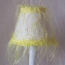 "5"" Sunshine Fabric Empire Candelabra Shade"