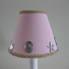"5"" Glam Girl Fabric Empire Candelabra Shade"