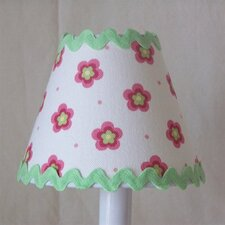 "5"" Sheer Bliss Fabric Empire Candelabra Shade"
