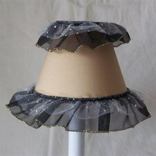"5"" Diva Ballerina Fabric Empire Candelabra Shade"