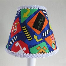 <strong>Silly Bear Lighting</strong> Construction Cutie Table Lamp Shade