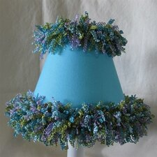 "5"" Day at The Aquarium Fabric Empire Candelabra Shade"