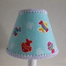 "5"" Kiddie Pool Fabric Empire Candelabra Shade"