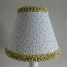"5"" Suzie Sunshine Fabric Empire Candelabra Shade"