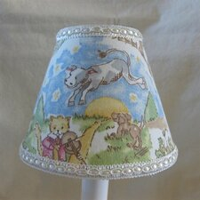 <strong>Silly Bear Lighting</strong> Nursery Rhyme Table Lamp Shade