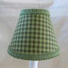 "5"" In The Tree Top Fabric Empire Candelabra Shade"