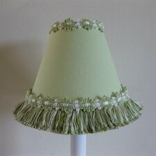"5"" Warm Sunshine Fabric Empire Candelabra Shade"