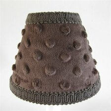 Chocolate Minky Table Lamp Shade