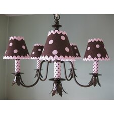 <strong>Silly Bear Lighting</strong> Dottie 5 Light Chandelier