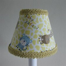 "5"" Animal Adventure Fabric Empire Candelabra Shade"