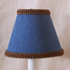 "5"" True Jeans Fabric Empire Candelabra Shade"