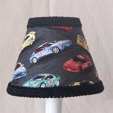 "5"" Race Car Fabric Empire Candelabra Shade"