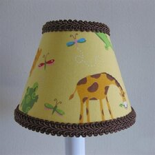"5"" Animal Friends Fabric Empire Candelabra Shade"