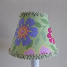 "5"" Wild Vine Blossoms Fabric Empire Candelabra Shade"